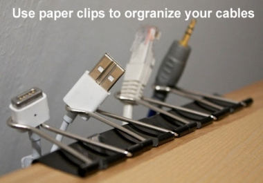 design a lifehack for any inconvenience in your life.