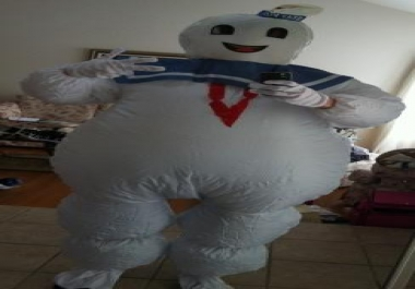 be a singing Telegram dressed as a Marshmallow Man