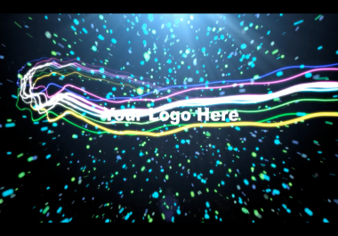 I will take your logo and make a space type video for