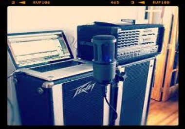 write and record you a song, professionally or personalized