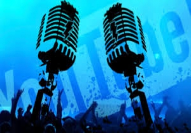 sing and provide a mp3 cover of any song