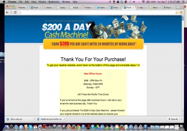 teach you how to make $200-a-day ONLINE TODAY!