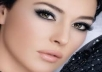 teach you how to properly apply make-up suited to your eye colour and facial structure