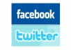promote anything for anyone from Facebook and Twitter.