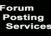 Will Provide Forums Link Building Service