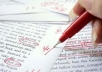 proofread any document up to 5000 words
