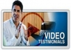 create informational testomonial/video review for your company