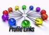 Create 130+DOFOLLOW High PR2 to PR7 Highly Authorized Google Dominating Backlinks like Paul-Angela Profiles Links