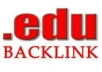 Create 333+ EDU Backlinks for your Website URL   Google Love Edu Links and give your great SERP