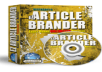 EZ Article Brander Comes with Master Resale/Giveaway Rights!