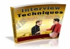give you a Great ebook on Job Inteview Techniques