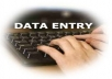 data entry work