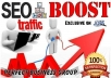 push your keyword in search engines for 30 days