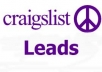 give you 500 craigslist job leads