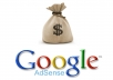 give Fully approved Adsense account for websites for