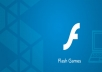 create simple flash games & application just