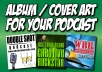 Create iTunes album art for your Podcast