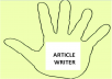 write articles of up to 500 words