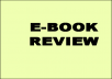 Review your E-Book