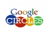 add 300 real google circles to your google plus page