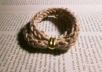 make a knitted bracelet