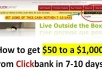Send you rapid clickbank cash, get cash fast 7 till 10 days