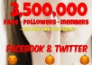 promote you or a company on my facebook or twitter 5x a day for 5 days!