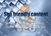 write 500 word of SEO content for your blog or website