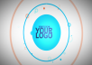 add your custom message along with logo and products to the video