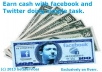 reveal How To Make 10 To 100 Bucks A Day With Facebook And Twitter Easier