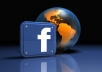 give GENUINE 1000+ quality FACEBOOK likes to your fanpage