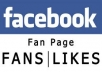 deliver 2,000 facebook fan page likes 100% profile pic