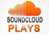 provide you with 100,000 soundcloud plays. (SPLIT AVAILABLE)