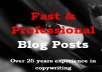 write 300 word blog post