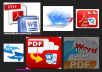 Convert pdf document to word and word to pdf 500 pages