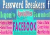 Hack Any Facebook Account