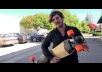 run around on a boosted board with your logo